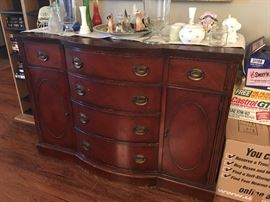 Bow front Buffet/Sideboard