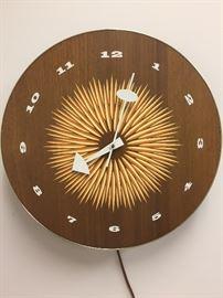 George Nelson clock