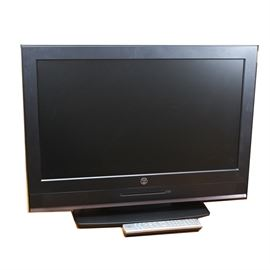 "Westinghouse 26"" LCD Television: A 26"" LCD television by Westinghouse. This device features a 26"" widescreen LCD display with a 16:9 aspect ratio, and among its inputs are two HDMI ports. The Model number is SK-26H570D-A, and its serial number is 5612W84302256A"