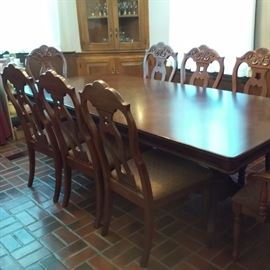 Universal Dining Room Suite with 8 Chairs