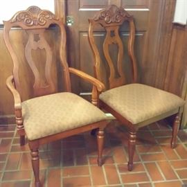 Universal Chairs with Dining Room Suite