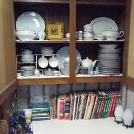 Sheffield Fine China Japan Classic 501, Cookbooks including Southern Living