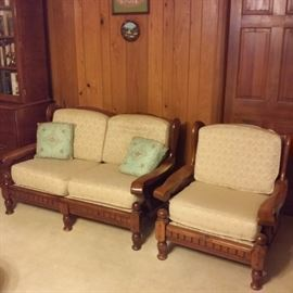 Loveseat & Chair -- Country