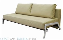 Full Size Futon - Available in beige and brown