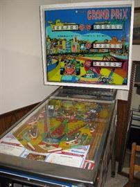 Williams Grand Prix pinball machine