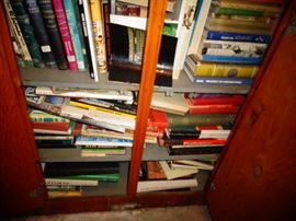 60 YEAR COLLECTION OF OVER 2000 BOOKS