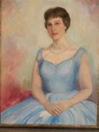 PORTRAIT OF SHIRLEY JEFFERSON BY EDITH SMITH