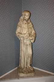 HUGE CEMENT STATUE OF ST. FRANCIS