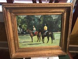 Equestrian Artist:  Christine M. Cancelli