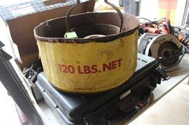 Vintage Engine parts washer