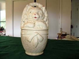rare vintage cookie jar