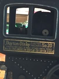 Train is a Dinky Toy