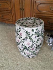 Ceramic garden seat