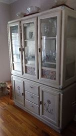 And here's the matching China cabinet!!