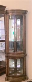 Corner Display Curio Cabinet