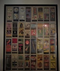 Match Book Cover Collection