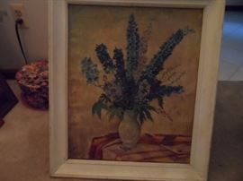 Original Hugo Kalinowski Floral series oil