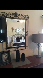 Decorative wall mirrors / lamps