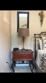 Side Tables / lamps / mirrors