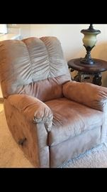 Reclining Chair with microfiber upholstery