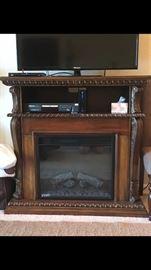 Beautiful Electric fireplace console