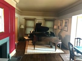 2 Grand Pianos, a Steinway and a Kimball