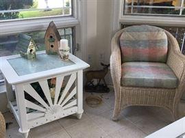 Patio / sun room furnishings