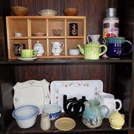 MIT011 Cute Pitchers, Trays, Bowls, Tea Sets & More