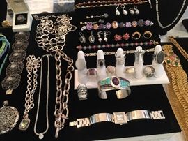 A fraction of the sterling jewelry!