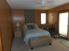 Sturdy dresser and headboard along with nightstand