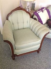 Vintage Upholstered Chair - $ 90.00
