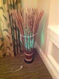 "Floor / ""stick"" lamp $ 60.00"