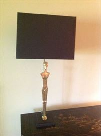 Brass Table Lamp $ 180.00