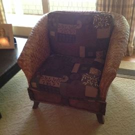 Beautiful Wicker Style Chair $ 350.00