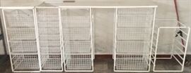 Container Store Elfa Storage basket systems