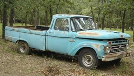 Vintage Ford F-250 truck