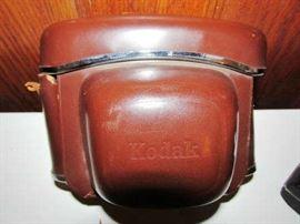 Vintage Kodak camera & case