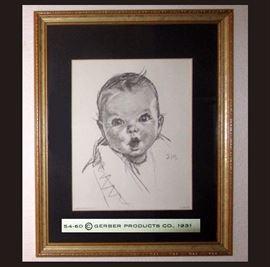 1931 Gerber Baby Print