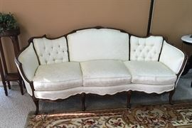 Victorian sofa with a matching chair