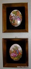 Framed Porcelain