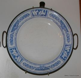 Old Blue and white plates