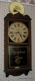 Antique Clock working