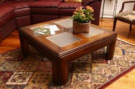 Great looking large coffee table.