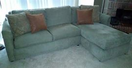 Thomasville Sofa w/Chaise (sold together)