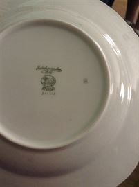 Heuthenreuther porcelain service for 12 many extras Brighton pattern NEVER USED