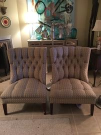 Mid Century Upholstered Chairs