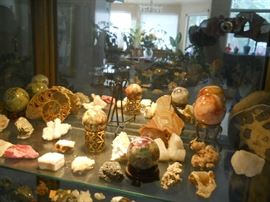 spheres and minerals