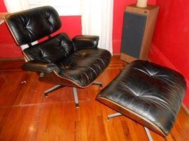 Herman Miller Eames lounge chair & ottoman