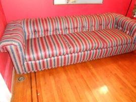 custom upholstered designer sofa