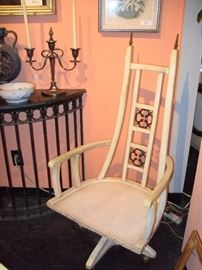 4 Mid Century Chairs